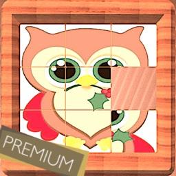 Sliding puzzle tiles Premium