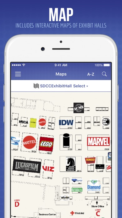 Official Comic-Con App iPhone