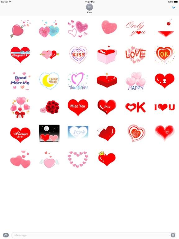 Love And Heart Sweet Sticker screenshot 4