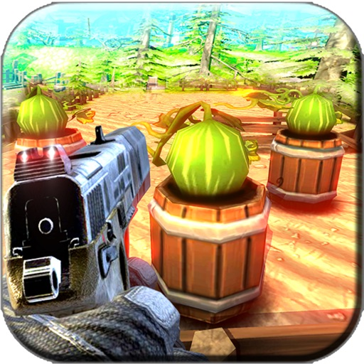 Real Gun Shoot - Fruit Target