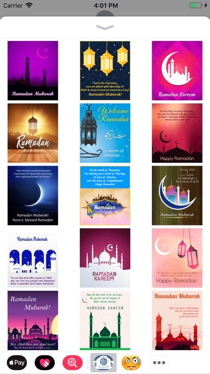 Ramadan Wishes Stickers