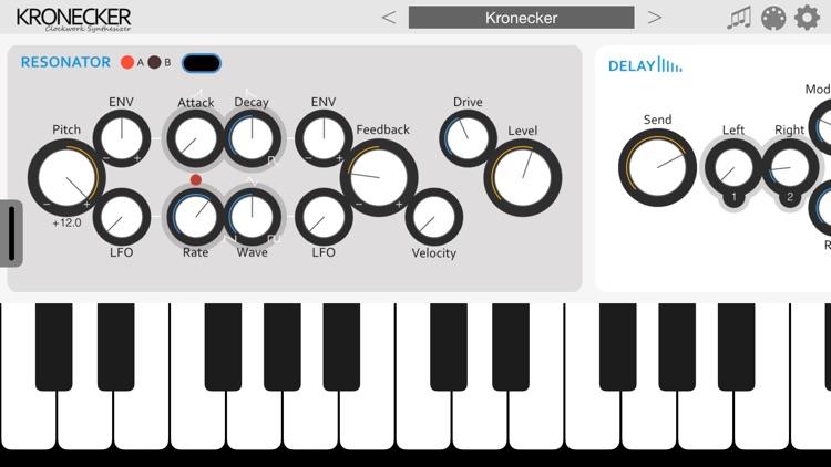 Kronecker - AUv3 Plugin Synth screenshot-3