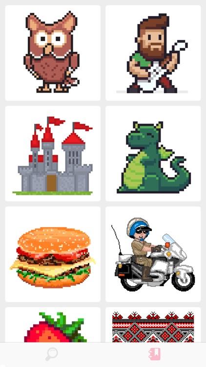 Pixel Art Coloring Book (2019) screenshot-0