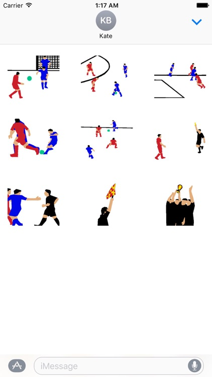 Soccer Animated Stickers
