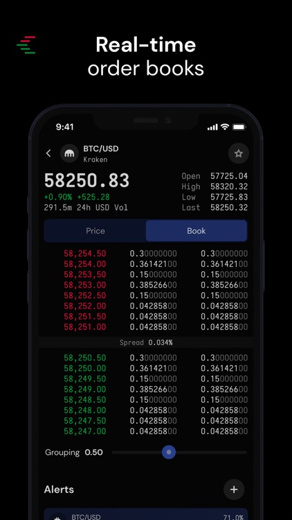 Cryptowatch screenshot-5