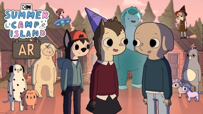 Summer Camp Island AR screenshot 1