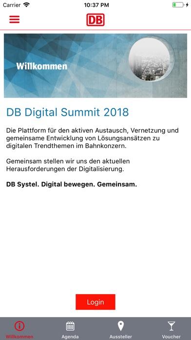 DB Digital Summit 2018Screenshot von 2