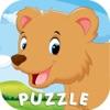 Fruit Slice Animal Word Puzzle