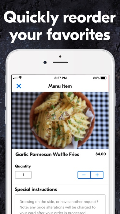 Grubhub: Local Food Delivery iPhone