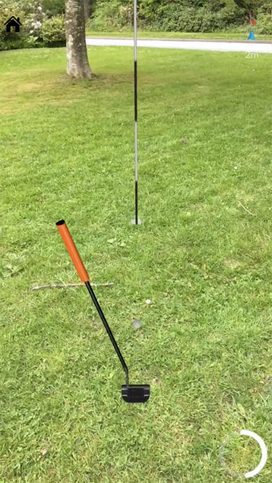 Echtes GolfScreenshot von 8