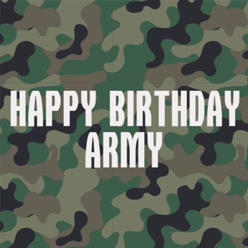 Army Birthday Stickers