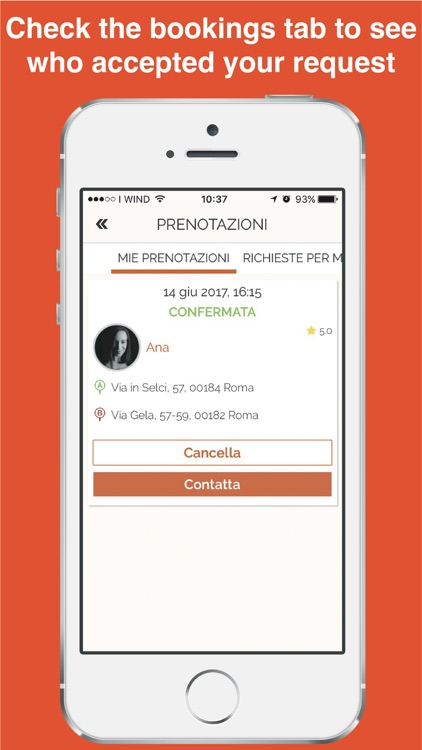 Scooterino Scooter ridesharing screenshot-3