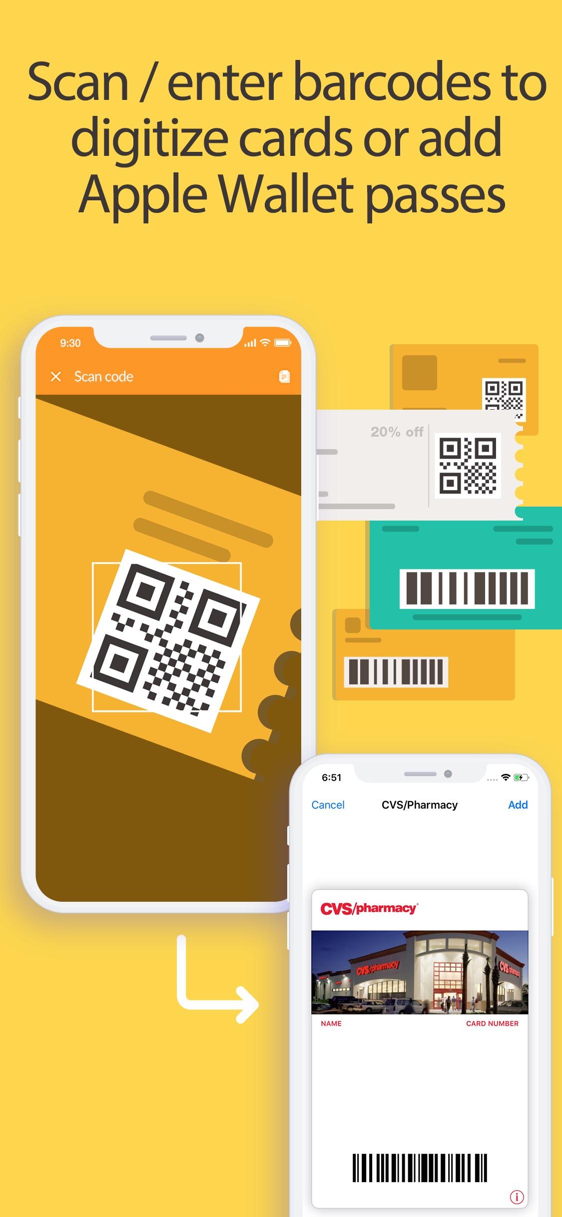 Screenshot do app Pass2U Wallet - cartões / cupo