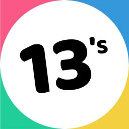 Ícone do app 13's