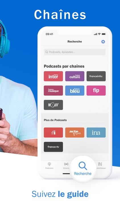 Radio France - podcast, direct screenshot-4