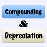 compounding & depreciation