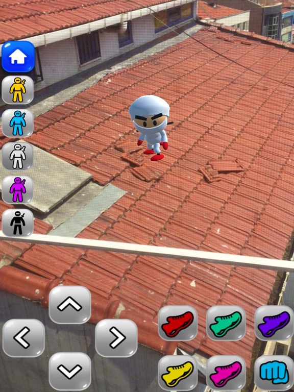 Screenshot 3 Ninja Kid AR: Augmented Action