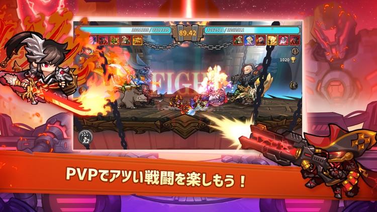 ちびっこヒーローズ - 放置系RPG screenshot-3