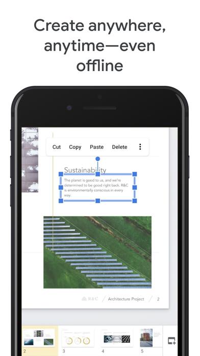 Google PräsentationenScreenshot von 3