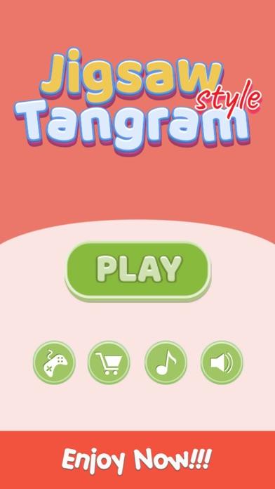 Jigsaw Style Tangram Geometry screenshot #5