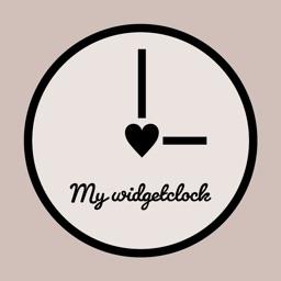 My widget clock