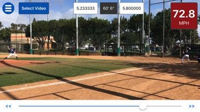 Screenshot for Baseball Radar Gun + in United States App Store