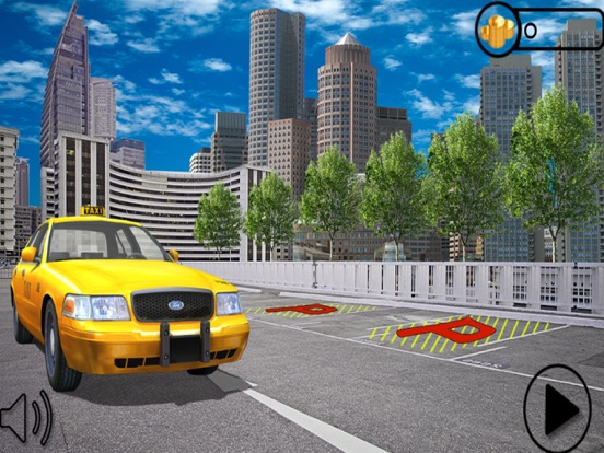 Crazy City Taxi Car Driver 3D на iPad
