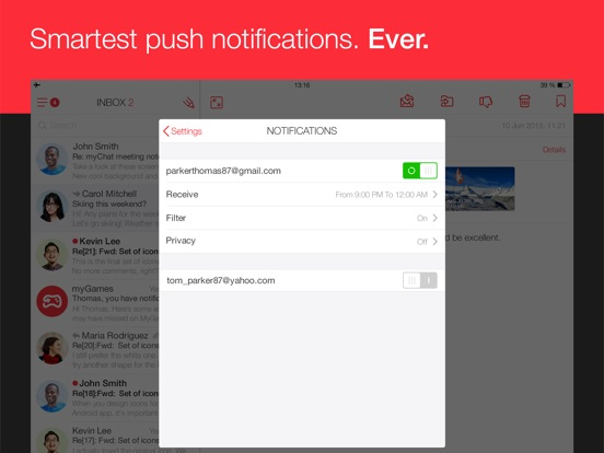 Screenshot #4 for myMail – Email App