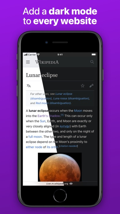 Noir - Dark Mode for Safari screenshot 1