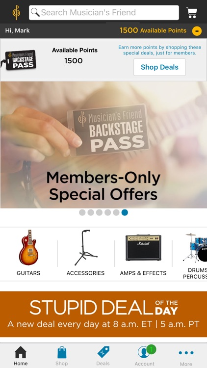 Musician's Friend Deals & Gear