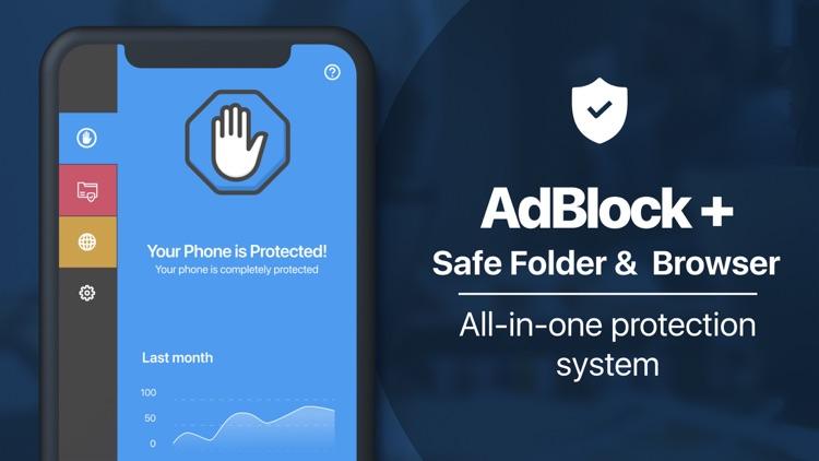 AdBlock Safe Folder & Browser