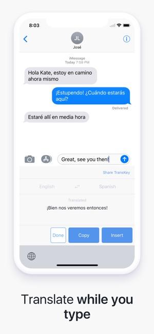 transkey chat translator on the app store. Black Bedroom Furniture Sets. Home Design Ideas