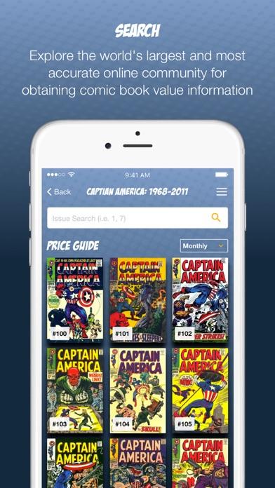Comics Price Guide Screenshot