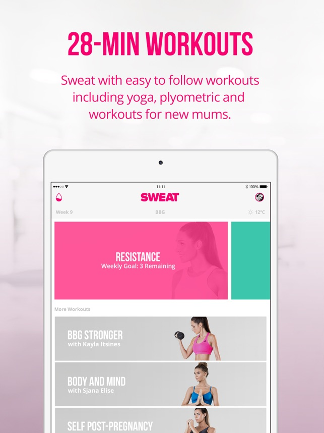Sweat kayla itsines fitness on the app store sweat kayla itsines fitness on the app store fandeluxe Images