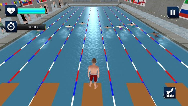 Real Water Swimming Pool Race screenshot-3