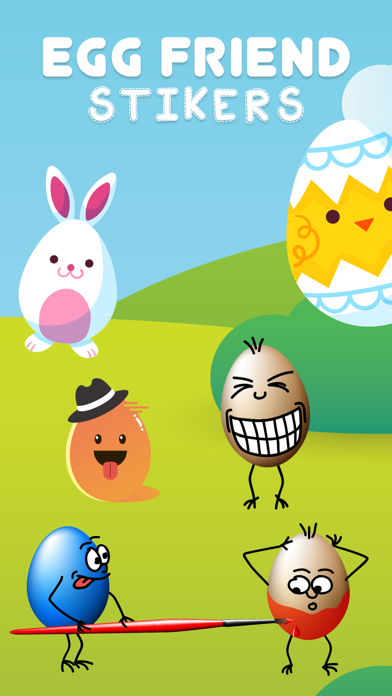 Egg Friend Stickers screenshot two