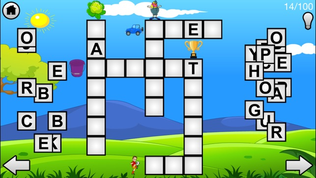 Crossword Puzzle Game For Kids On The App Store