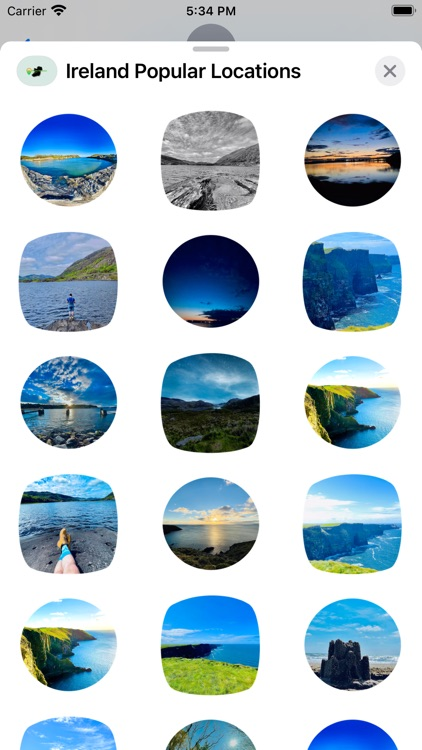 Ireland - Locations Stickers screenshot-6