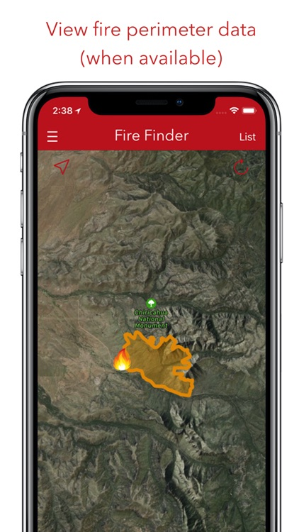 Fire Finder - Wildfire Info screenshot-2