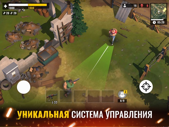 The Last Stand: Battle Royale на iPad