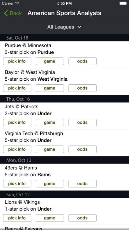 Live Scores and Odds screenshot-5