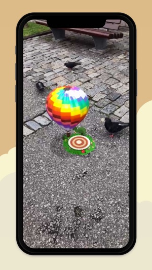 ‎Pocket Balloon - Fly in AR Screenshot