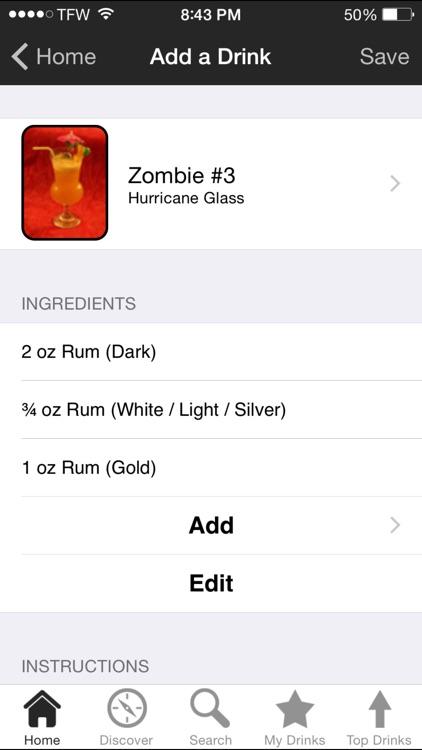 iBartender Cocktail Recipes screenshot-1