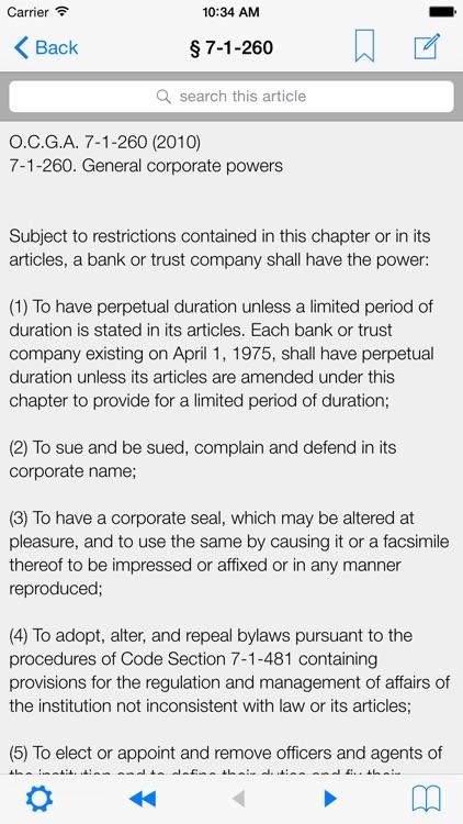 GA Law