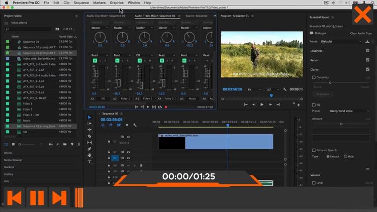 Worksflows Adobe Audition CC screenshot-3