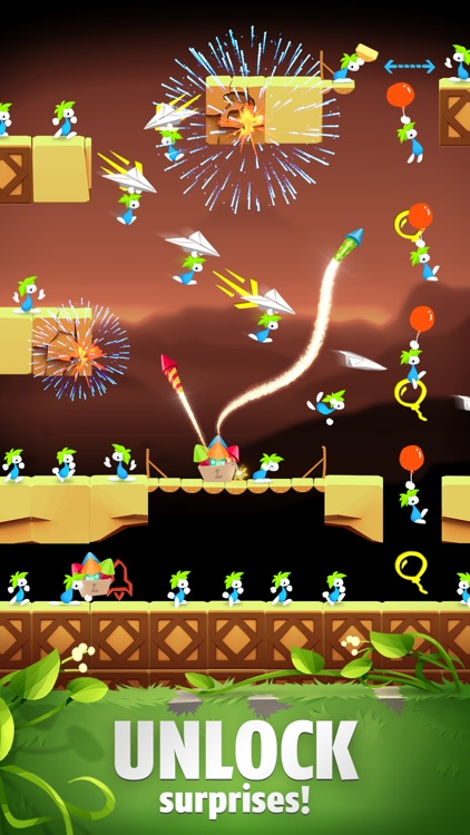 Lemmings: The Puzzle Adventure screenshot-6
