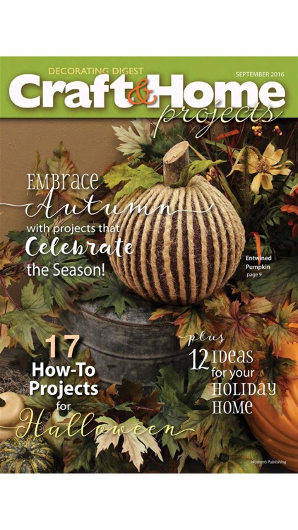 Craft & Home Projects Magazine screenshot-3