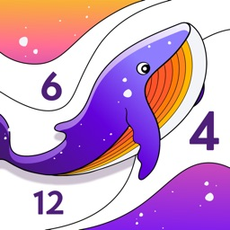 Color by Number, Coloring Book