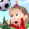 マーシャとくま: ゲーム サッカー