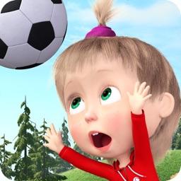 Masha and the Bear Soccer Game